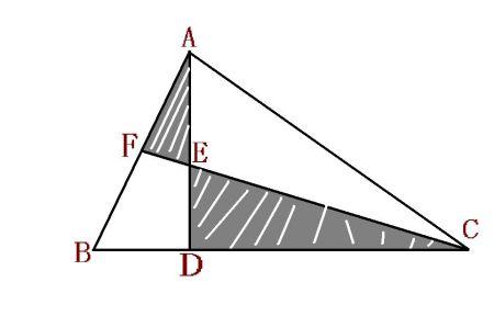如图所示,bd是三角形abc的中线,ce垂直bd于点e,af垂直图片
