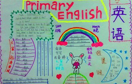 英语手抄报的内容,可以有英语谚语图片