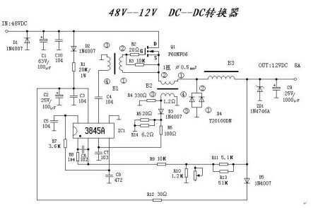 电路 电路图 电子 户型 户型图 平面图 原理图 450_294图片