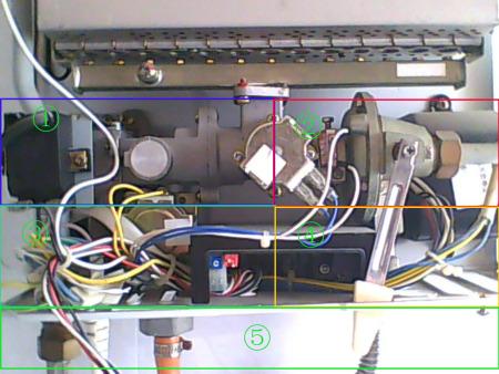 我买的樱花燃气热水器是sch10-e12,现在想提高出水温度,打开面盖,自已图片