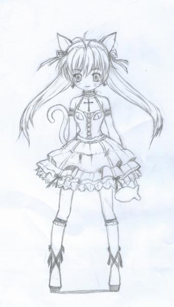 画日本动漫人物的简笔画图片