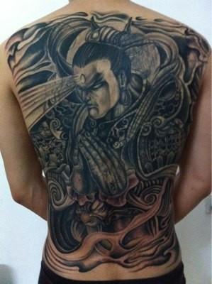 二郎神纹身,求图片图片