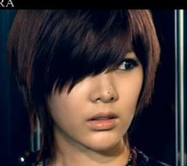 tara居丽的短发是什么发型?图片