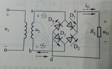桥式整流电路基础图片