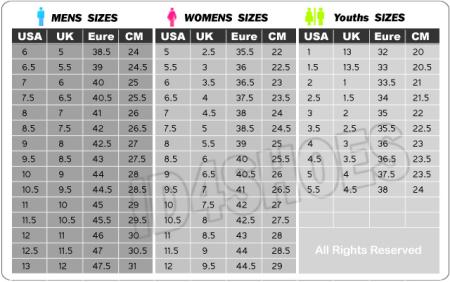vans 鞋子尺码的问题图片