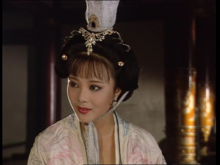 黑色丝袜1纥�a�xn�)_求帮忙辨认刘晓庆版《武则天》中一女演员,求名字!tat有图