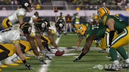 美式橄榄球锋线对峙的图片图片