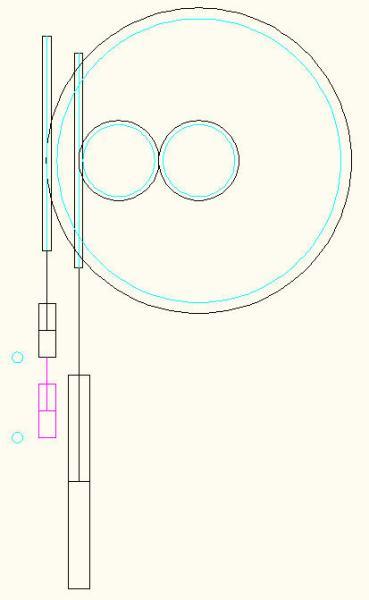 液压缸推力的实时测试装置图片