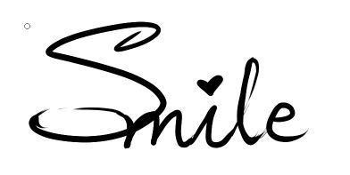 请帮忙设计一下英文手签签名smile图片