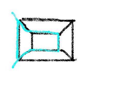大家说有不用折纸就能3笔画出的办法吗?图片