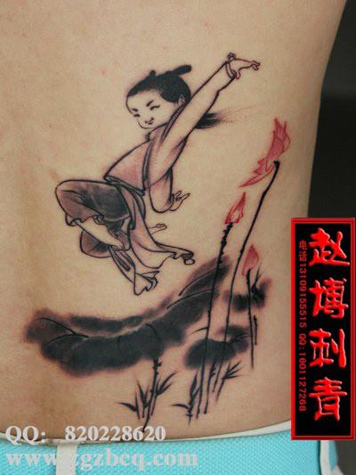 义乌最好的纹身师傅图片