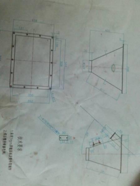 这个图用cad怎么样画,比如一个方框长508宽356,在方框