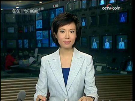 央视的这个女播音员叫什么名字?