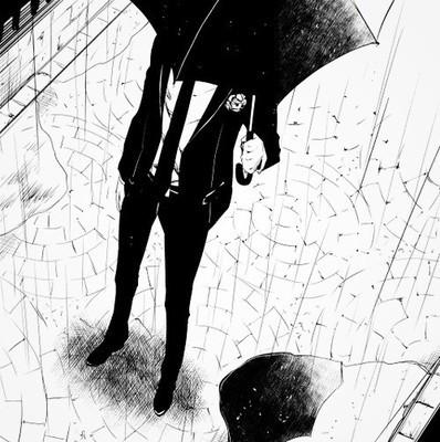唯美伤感打伞 下雨 下雨打伞背影 下雨打伞背影