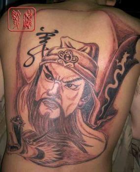 关公纹身图片图片