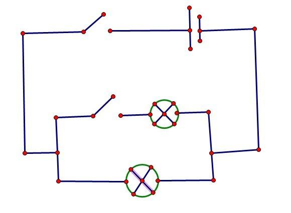 初三物理电路图画法我是初学者,对电路图的画法很是迷惑.下面两种图