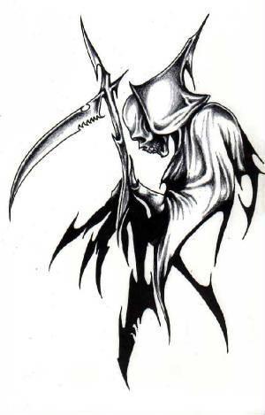... 我说的是一个穿黑袍的拿镰刀的死神)最好有网页链接