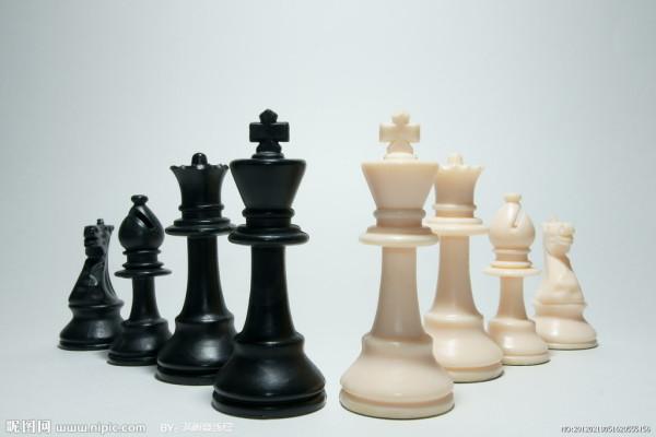 国际象棋里王和后的区别?图片