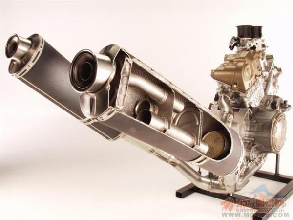 摩托车排气筒里面什么结构 最好有图