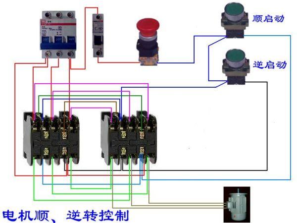 的实物接线图 最还能提供一个关于学习电 PLC控制方面的网址,谢谢