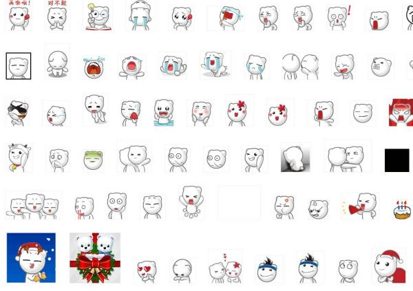 百度气泡熊表情图片