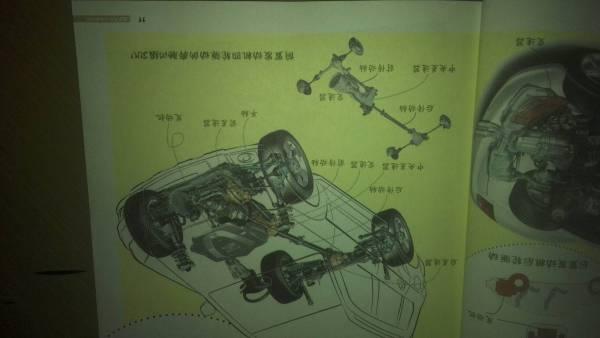 求个汽车底盘的结构图,不需要很详细,各个总成画出来了就好,高清图片