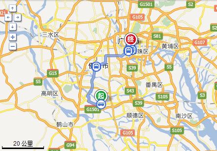 从勒流到广州海珠区江南大道中地铁站怎么坐车图片
