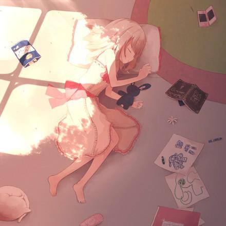 日本动漫女生睡觉或者昏睡的图片和具体情况 百度知道