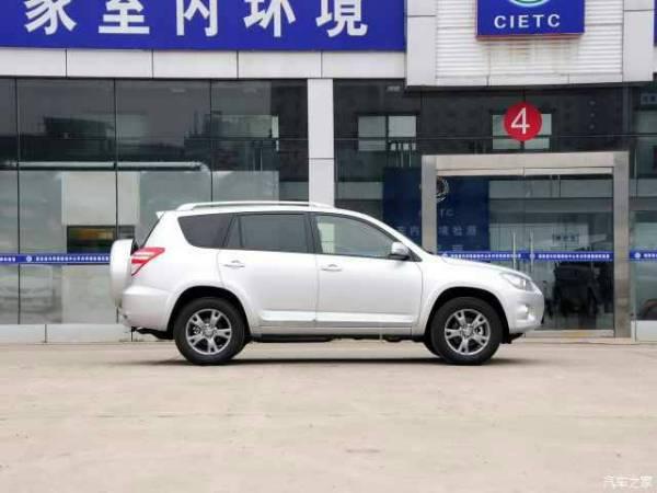 这是丰田什么车 比汉兰达小高清图片