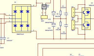 500A逆变电焊机电路图图片