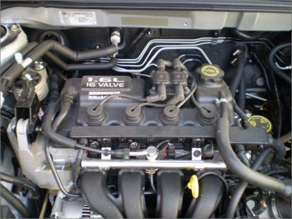 5V AWB发动机与奇瑞旗云用的1.6宝马mini发动机对比高清图片