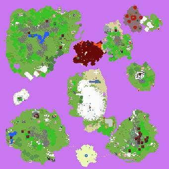 我的世界怎么制作空岛地图图片