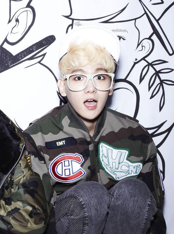 EXO                                                            Baekhyun Wolf Photoshoot
