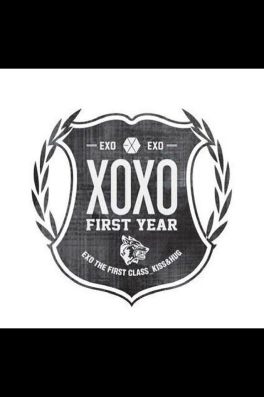 求这个exo logo高清大图 黑白双色的