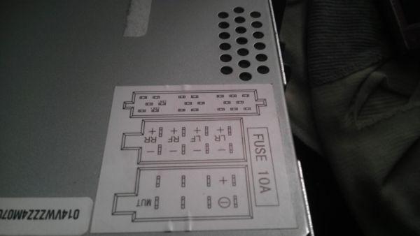大众车载cd 型号56d 035 185改装家用怎么接线高清图片