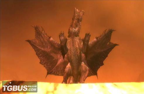 怪物猎人p3煌黑龙长什么样子