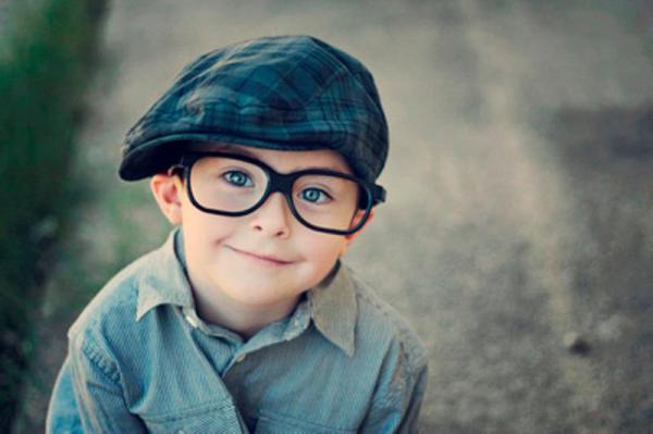 Children Wearing Glasses