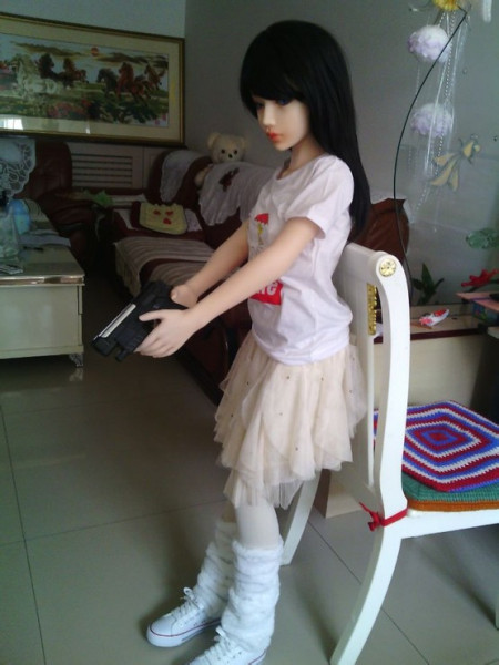 充气美女娃娃使用图片
