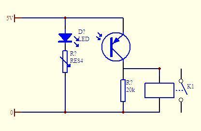 光电开关经过继电器怎么控制电磁阀,怎么接线的图片