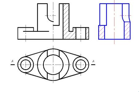 阶梯剖视图