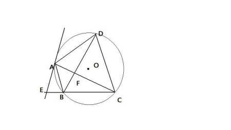 欧式装仹f�{��K����_如图圆内接四边形abcd的对角线ac平分∠bcd,bd交ac于点f过点a做圆的