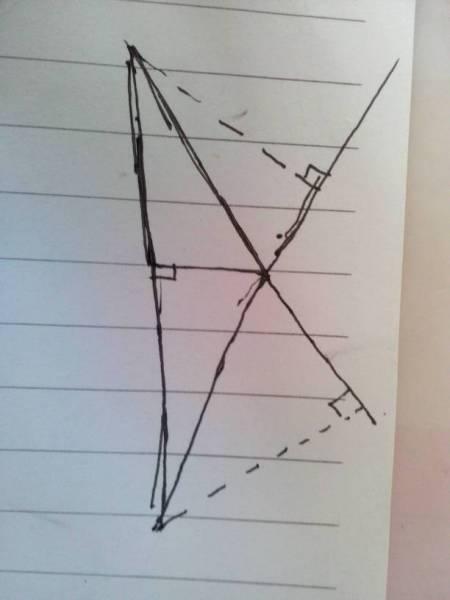 等腰钝角三角形的三条高怎么画? 发张图给我吧!图片