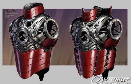 求钢铁侠盔甲设设计图 高清图片