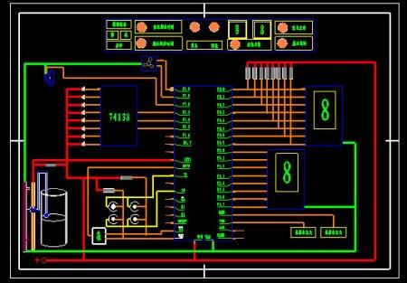 51单片机控制电磁阀电路图分享展示图片