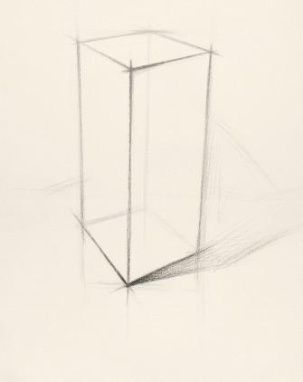 长方体的素描画法 怎么画图片