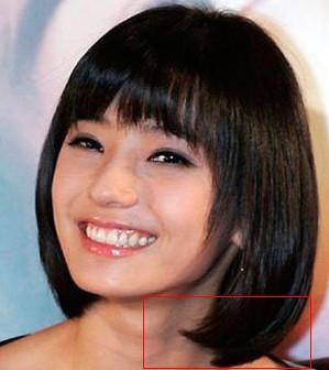 杏仁脸发型分享展示图片