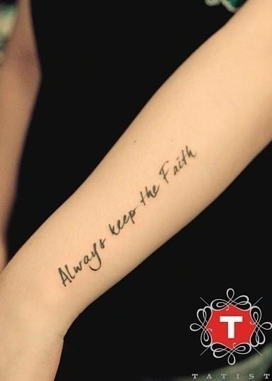 纹身用什么字体好看,但是不能很容易看出是名字图片