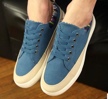 帆布鞋鞋带系法图解男