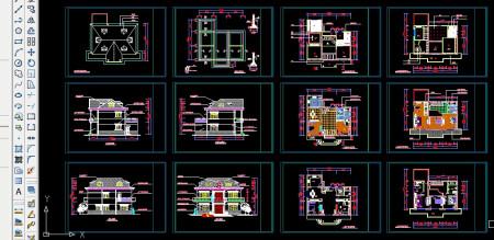 农村二层楼房设计