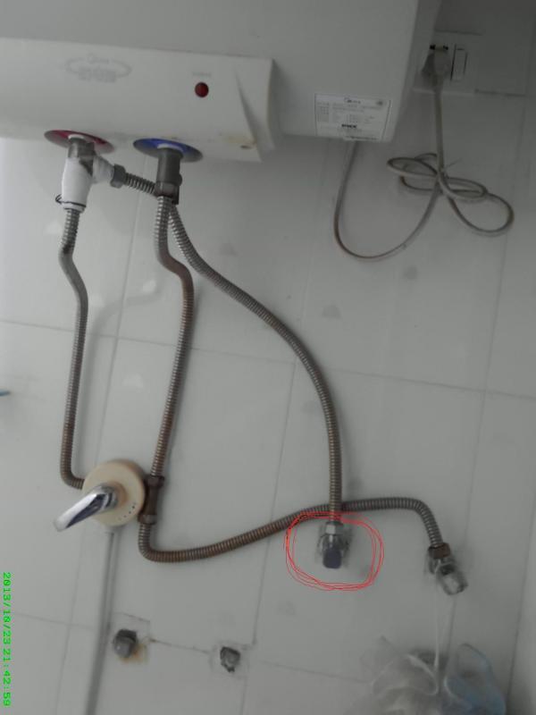 电热水器混合阀安装分享展示图片